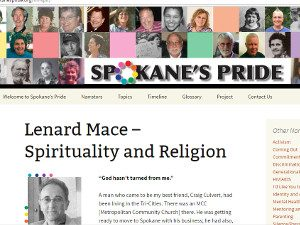 A page from Spokane Pride