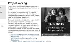 project naming